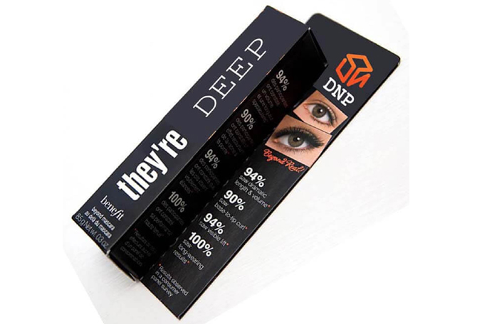 Eyeshadows Mascara Boxes