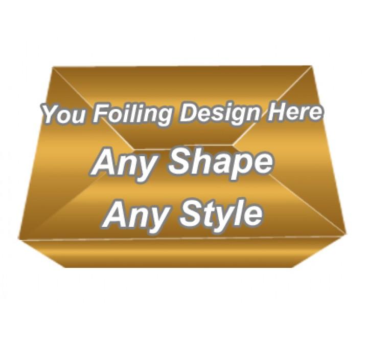 Golden Foiling - Autolock Bottom Boxes