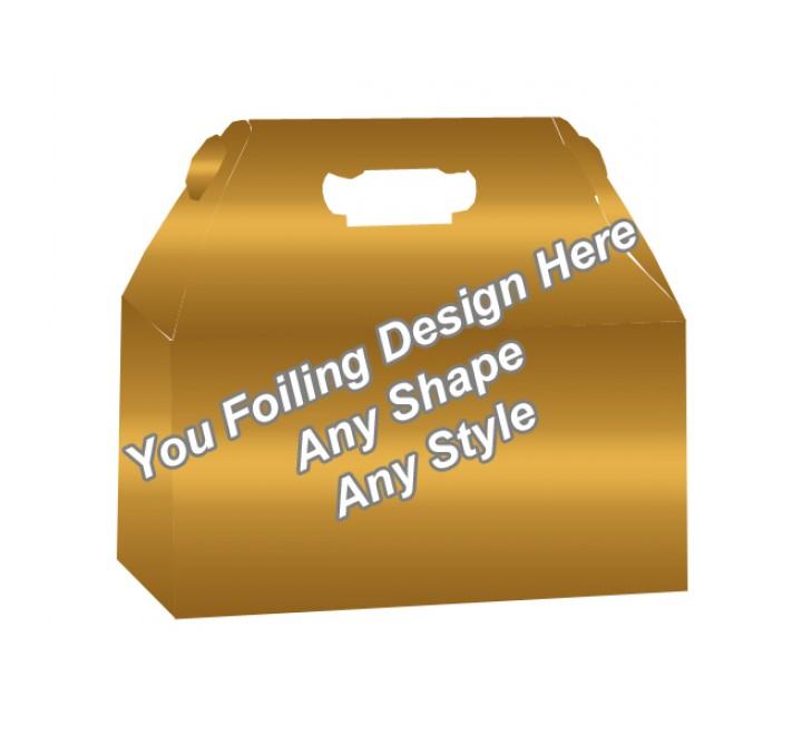 Golden Foiling - Gable Boxes