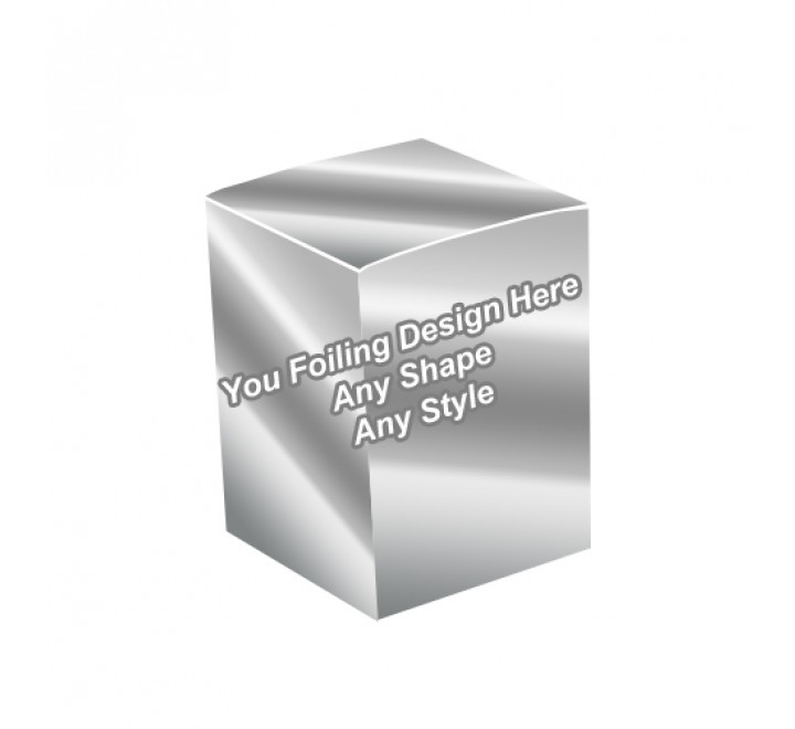 Silver Foilong - Essential Oil Packaging