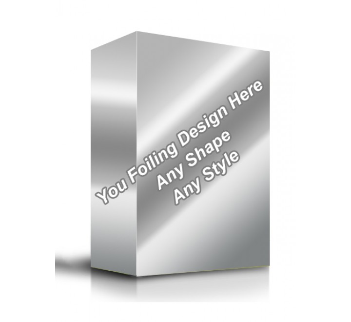 Silver Foiling - Product Packaging Boxes