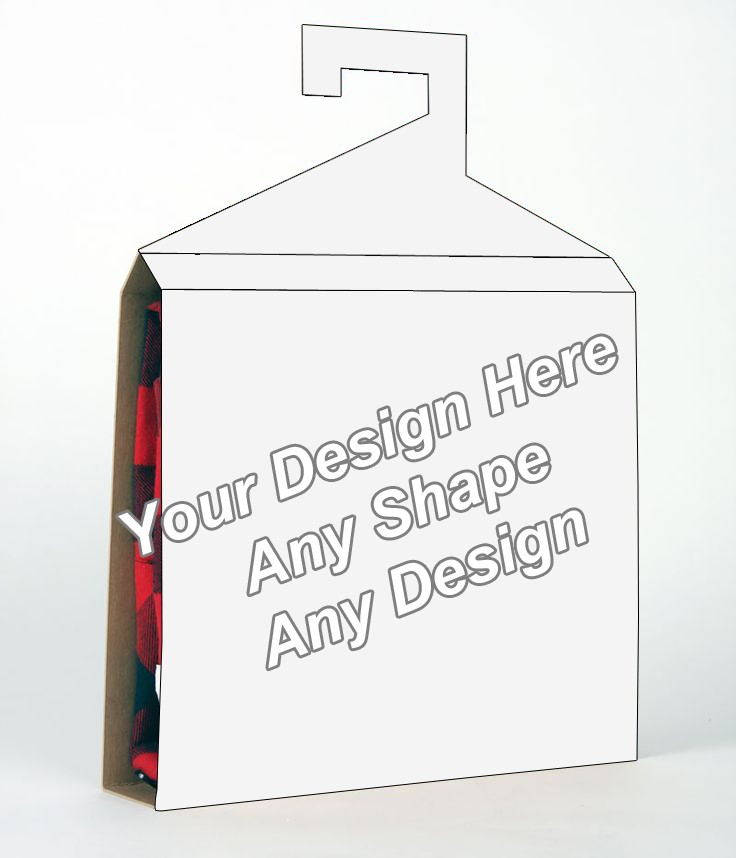 Card Board - Shirt Packaging Box