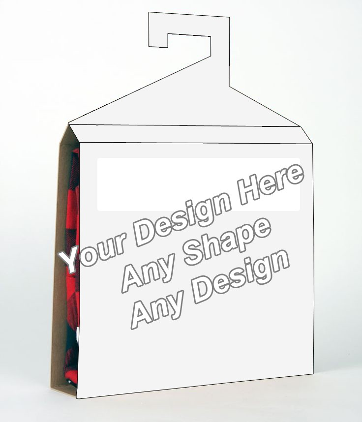 Die Cut - Shirt Packaging Box