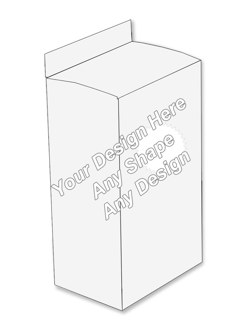 Die Cut - Five Panel Hanger Boxes