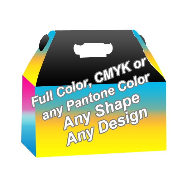 Full Color - Gable Boxes