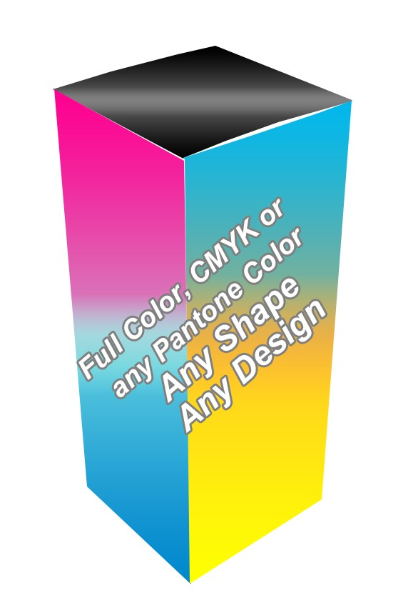 Full Color - E Liquid Boxes