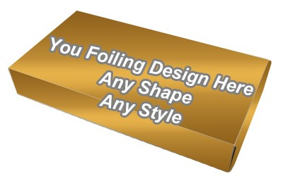 Golden Foiling - Window Packaging Boxes