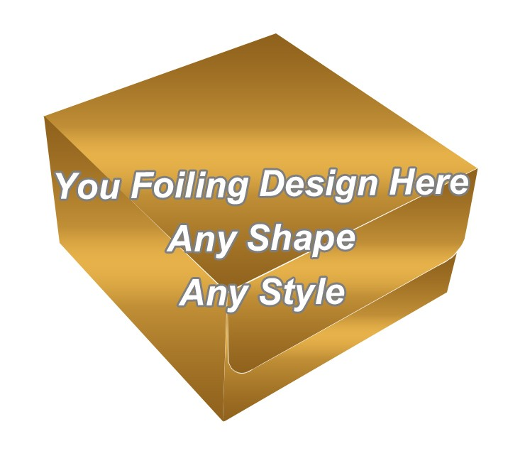 Golden Foiling - Thread Packaging Boxes