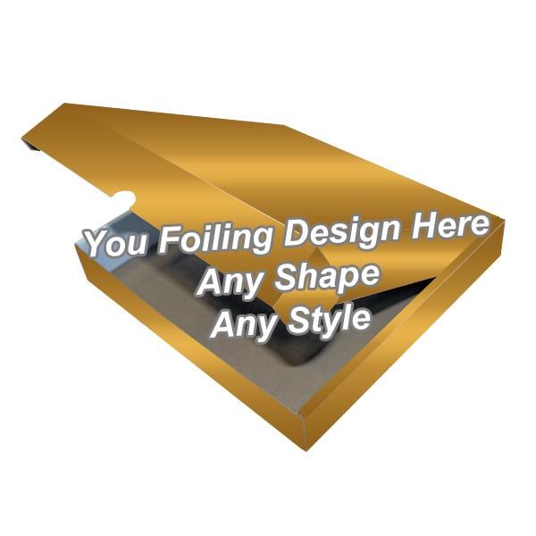 Golden Foiling - Tamp On Packaging