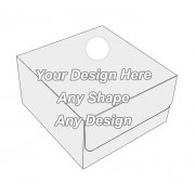 Die Cut - Tuck End Auto Bottom Cupcake Box