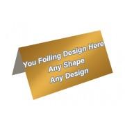 Golden Foiling - Header Card Packaging