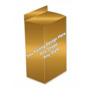 Golden Foiling - Hair Serum Packaging Boxes