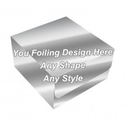 Silver Foiling Final - Tuck End Auto Bottom Cupcake Box