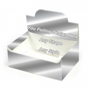 Silver Foilong - Auto Bottom Display Lid Boxes