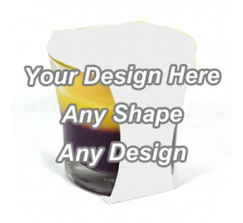 Cardboard - Cup Jar Sleeve Packaging