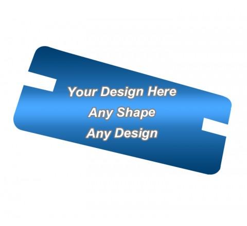 Gloss Laminated - Backing Card Printing