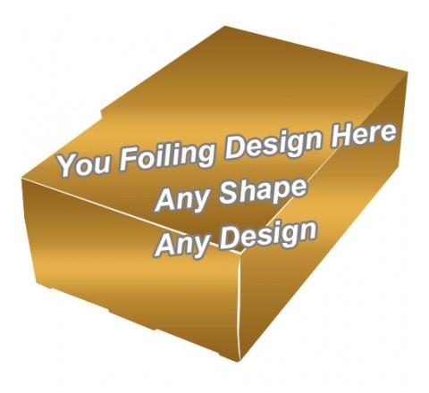 Golden Foiling - Cardboard Boxes