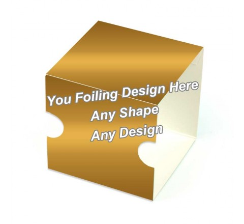 Golden Foiling - CreamButter Packaging