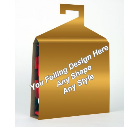 Golden Foiling - Shirt Packaging Box
