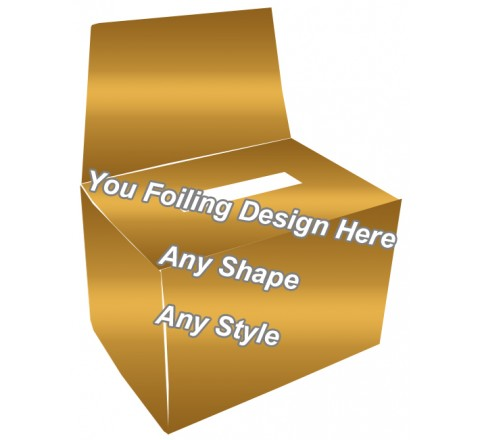 Golden Foiling - Charity Boxes