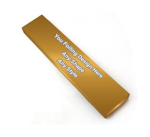 Golden Foiling - Custom Hair Extension Box