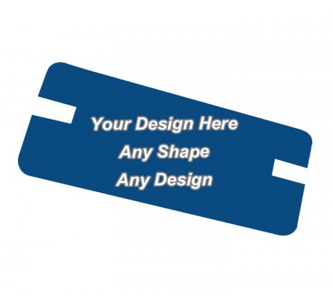 Matte Finish Boxes - Backing Card Printing