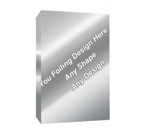 Silver Foiling - Perfume/ Cologne Packaging