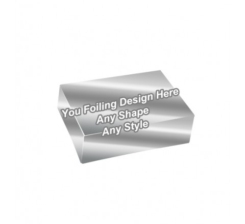 Silver Foiling - Stress Relief Toys Packaging