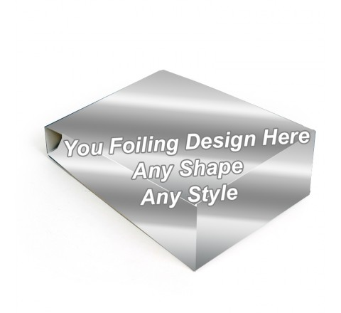 Silver Foiling - Gable Bag Packaging