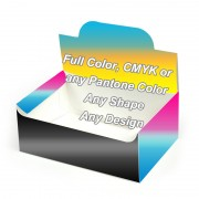 Full Color - Auto Bottom Display Lid Boxes