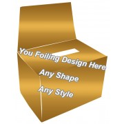 Golden Foiling - Bandage Packaging Boxes