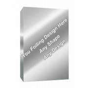 Silver Foiling - Fish Oil Packaging Boxes